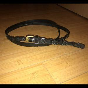 Weekend Max Mara Long Wrap Leather Belt Size Large